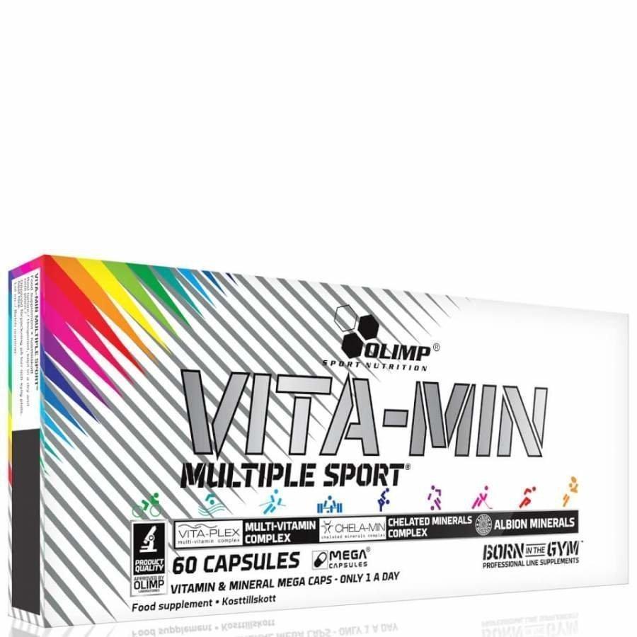 Olimp Vita-Min Multiple Sport 120 G Maustamaton