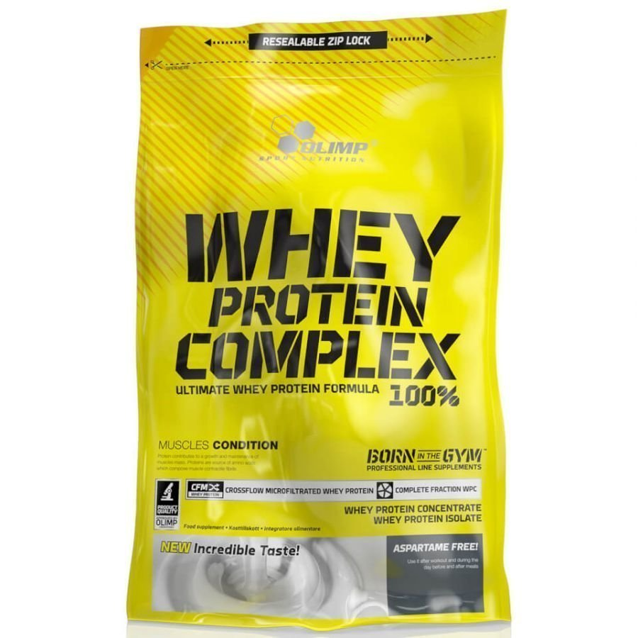 Olimp Whey Protein Complex 100 % 2270 G Sitruuna Juustokakku