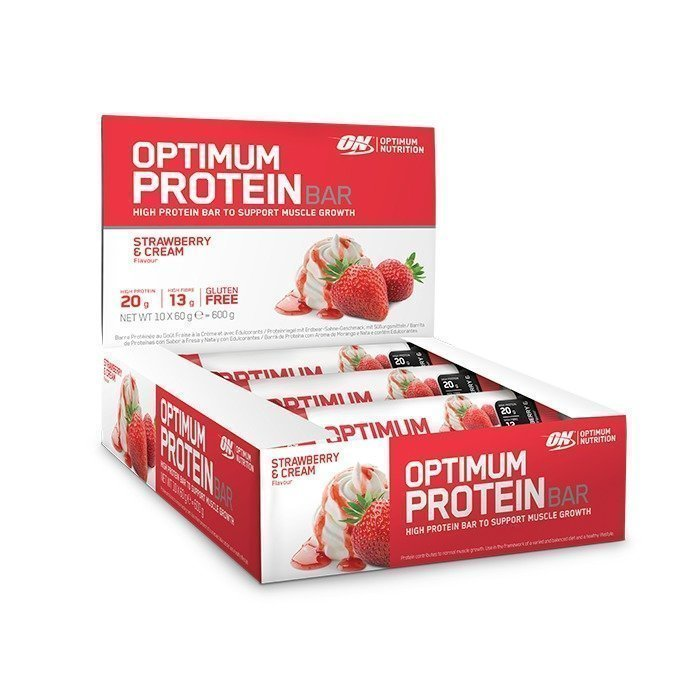 Optimum Nutrition 10 x Optimum Protein Bar 60 g