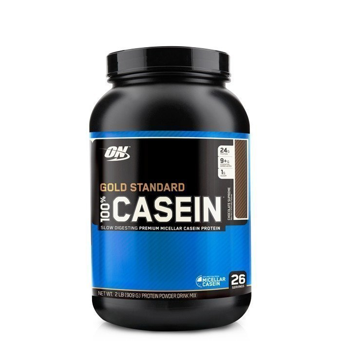 Optimum Nutrition 100% Casein Gold Std 909 g Chocolate Supreme