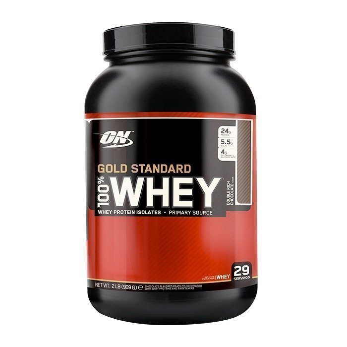 Optimum Nutrition 100% Whey Gold Std 909 g Double Rich Chocolate