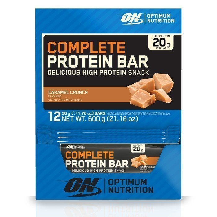 Optimum Nutrition 12 x Complete Protein Bar 50 g