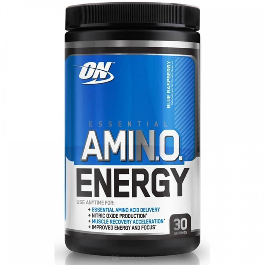 Optimum Nutrition Amino Energy 270 G Tuubi Mustikka