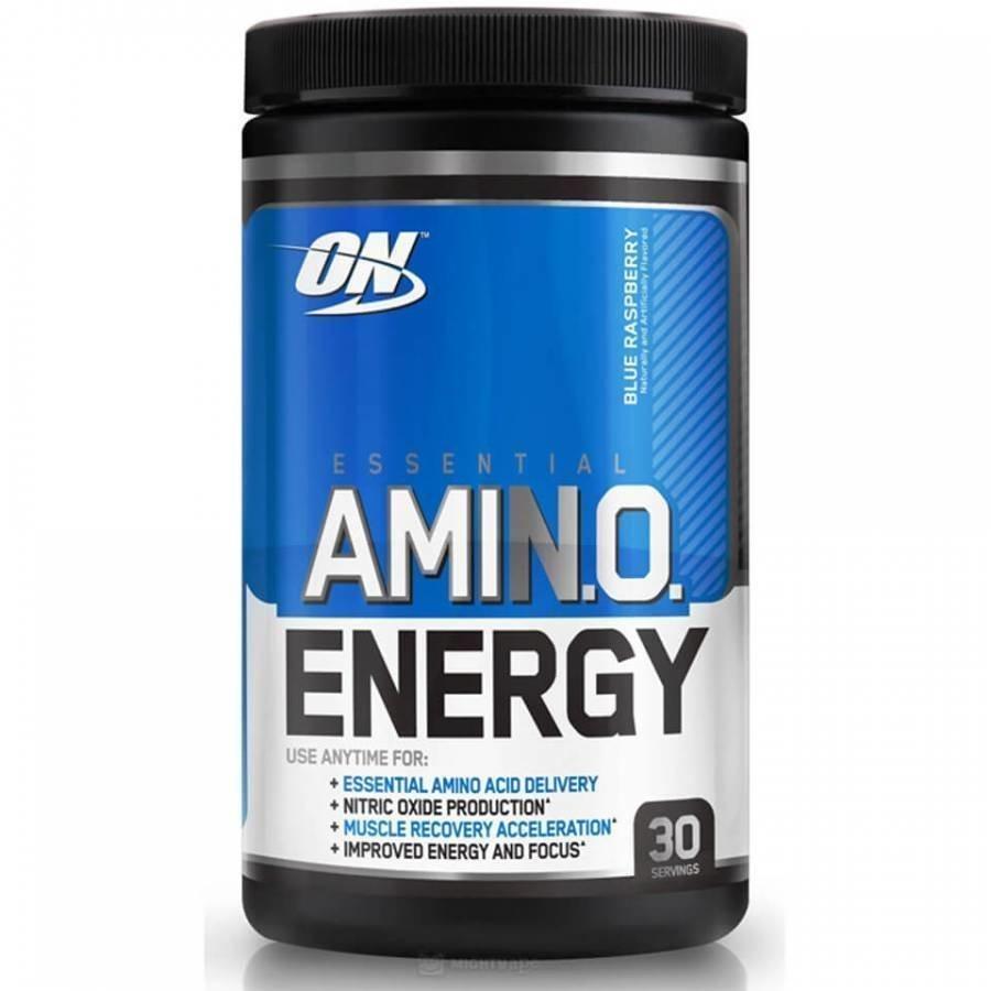 Optimum Nutrition Amino Energy 270 G Tuubi Mustikka