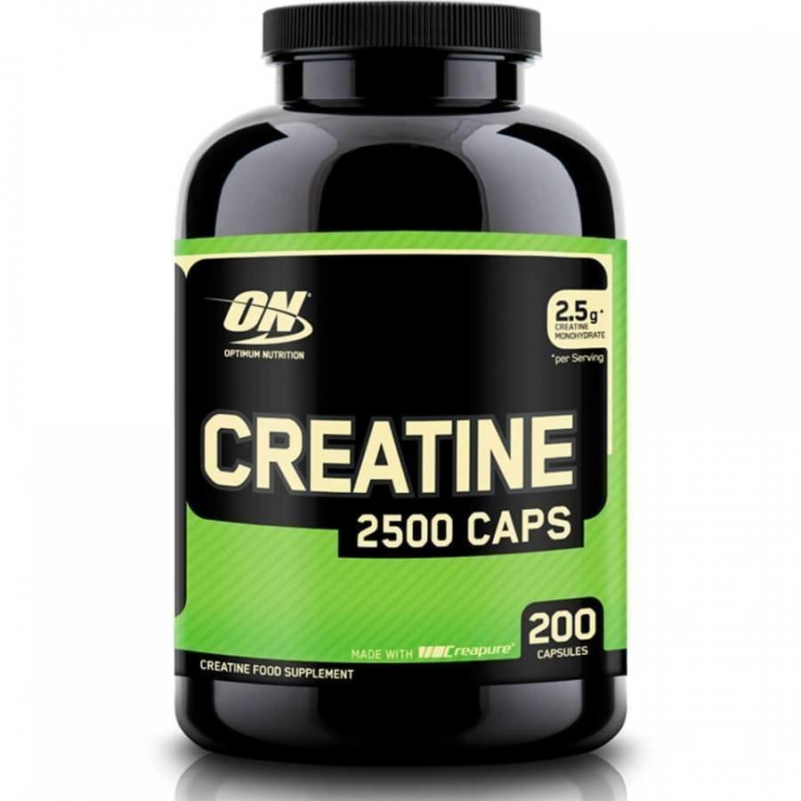 Optimum Nutrition Creatine 2500 200 Capsules