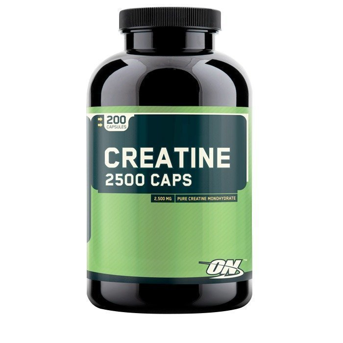 Optimum Nutrition Creatine 2500 200 kaps.