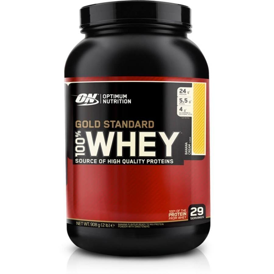 Optimum Nutrition Gold Standard 100 % Whey 908 G Tuubi Cookies Ja Cream