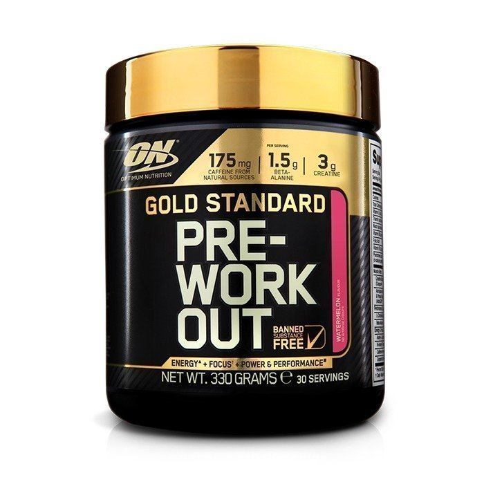 Optimum Nutrition Gold Standard Pre-Workout 330 g Green Apple