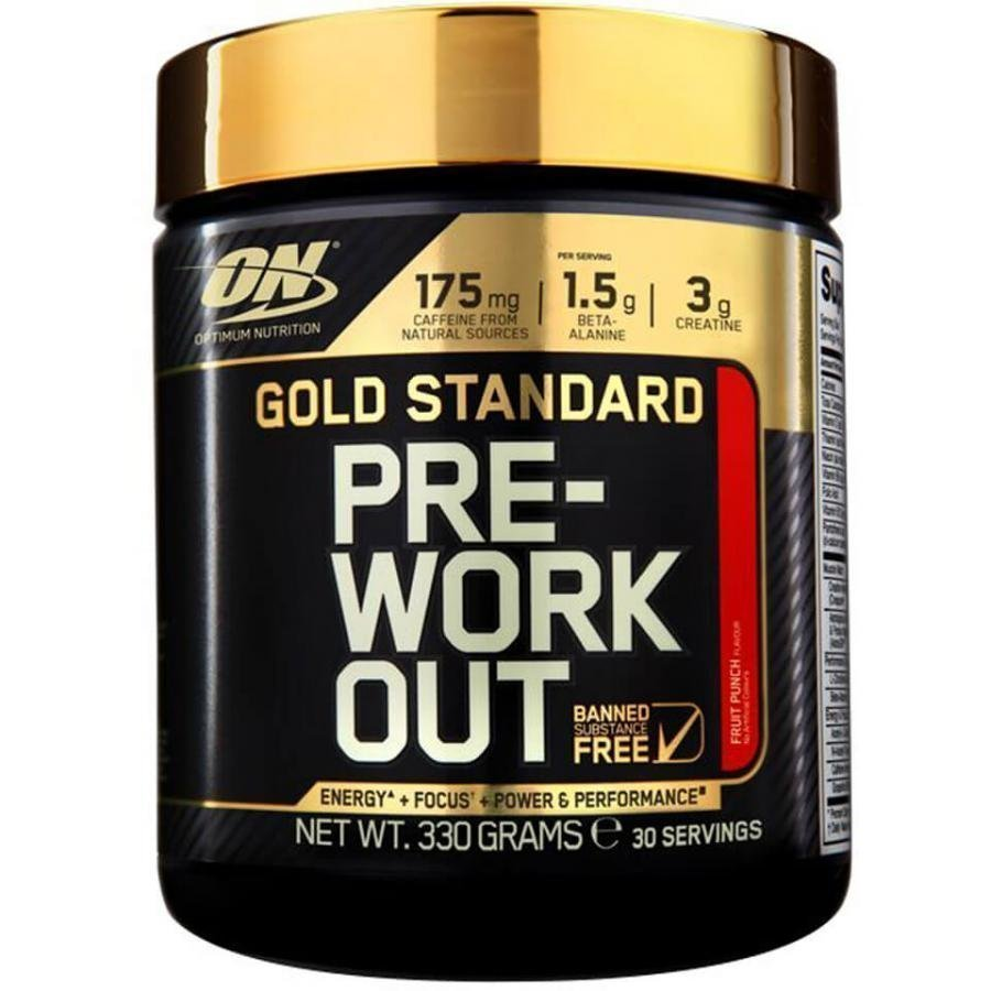 Optimum Nutrition Gold Standard Pre Workout 350 G Tuubi Ananas