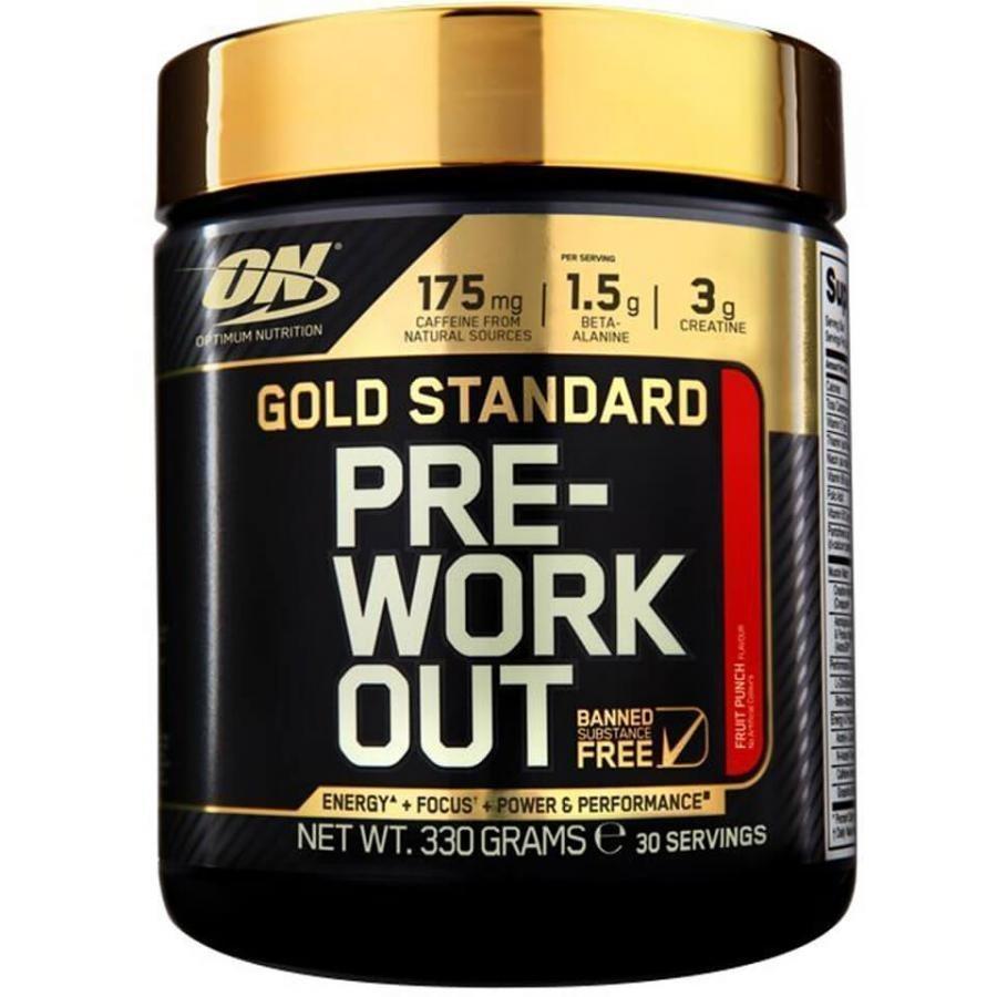Optimum Nutrition Gold Standard Pre Workout 350 G Tuubi Ananas