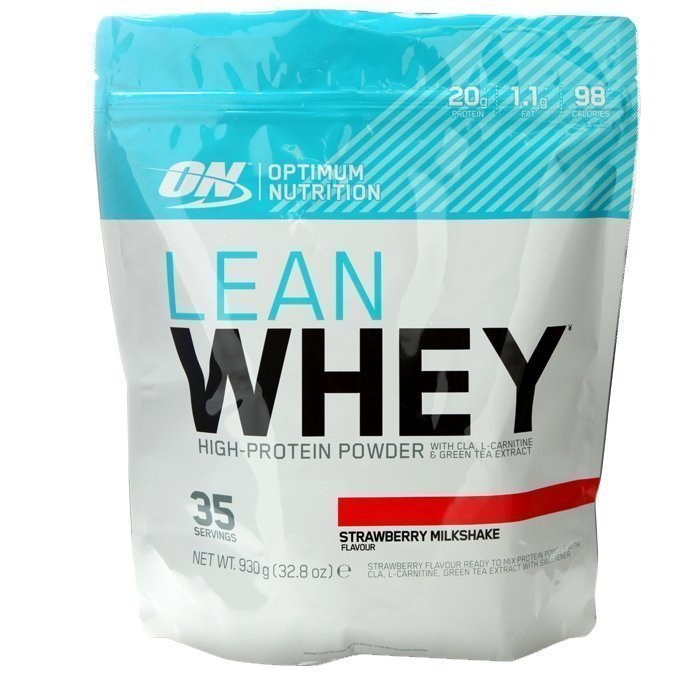 Optimum Nutrition Lean Whey 930 g Strawberry Milkshake