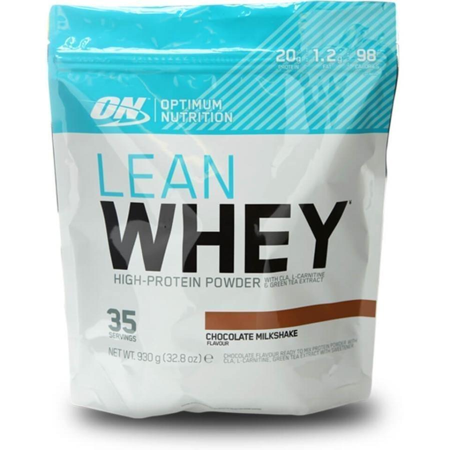 Optimum Nutrition Lean Whey Protein 930 G Pussi Mansikka