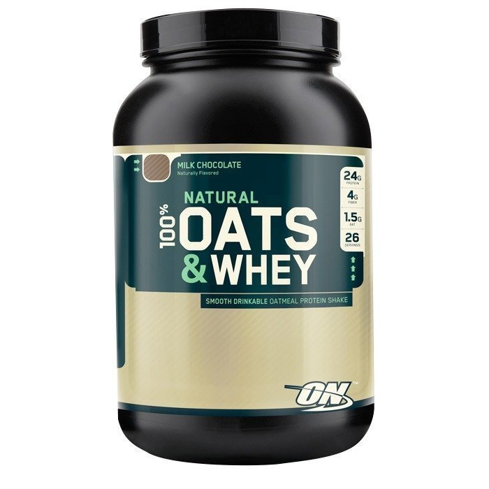 Optimum Nutrition Natural Oats & Whey 1360 g Milk Chocolate
