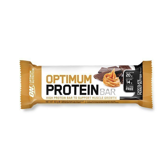 Optimum Nutrition Optimum Protein Bar 60 g Chocolate Peanut Butter