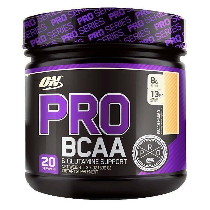 Optimum Nutrition PRO BCAA 20 servings Peach Mango