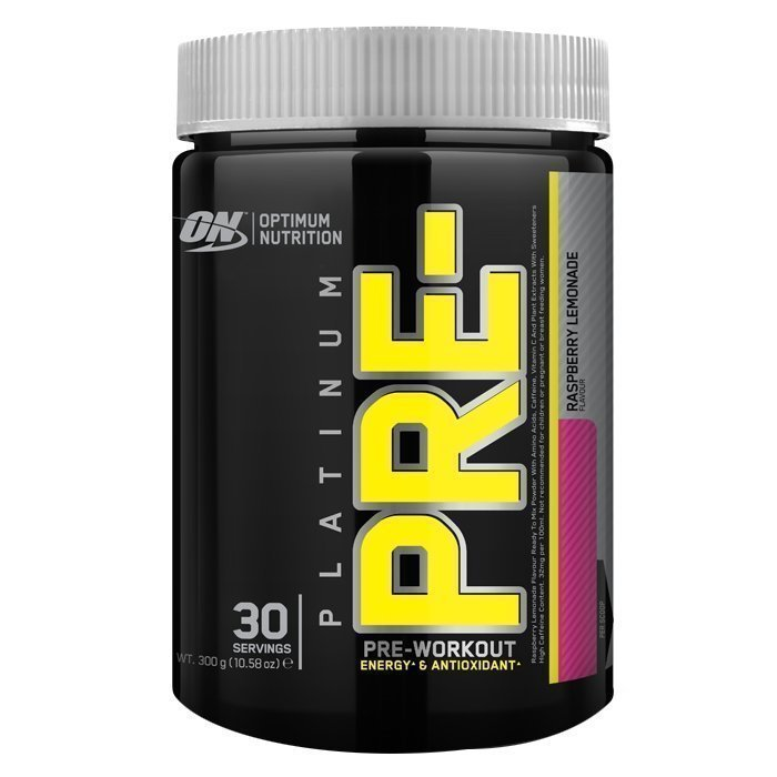 Optimum Nutrition Platinum PRE- 300 g Raspberry Lemonade