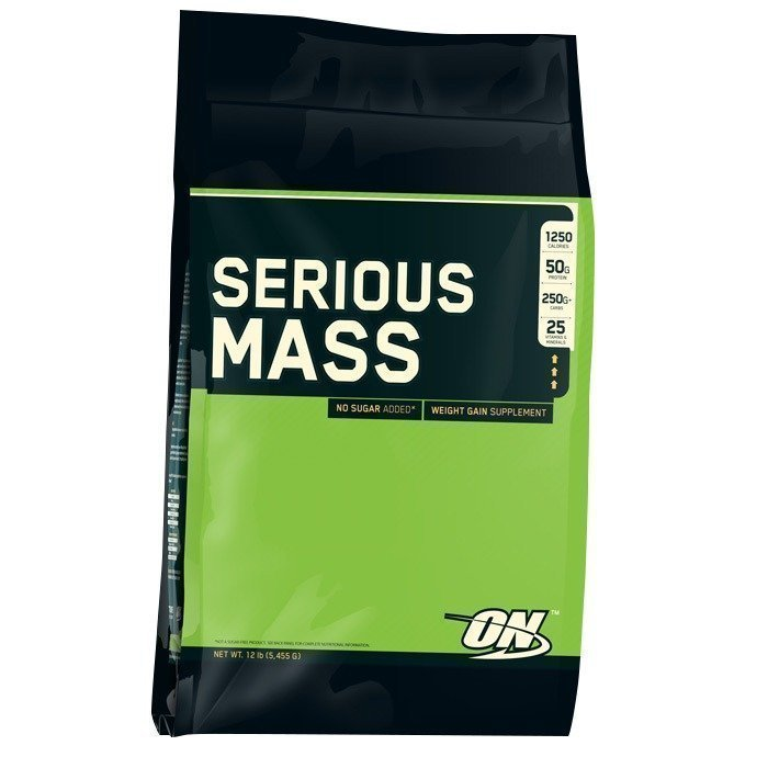 Optimum Nutrition Serious Mass 5455 g Mansikka