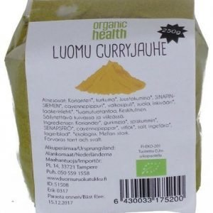 Organic Health Luomu Curry