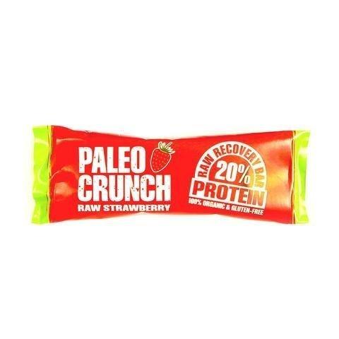 Paleo Crunch Luomu Raaka Proteiinipatukka Mansikka