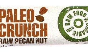 Paleo Crunch Luomu Raakapatukka Pekaanipähkinä