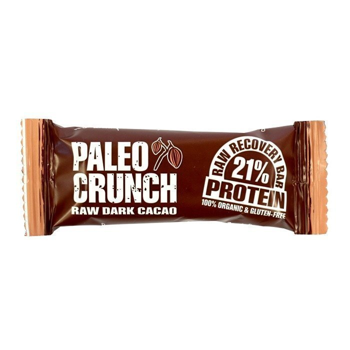 Paleo Crunch Raw Recovery Bar - Dark Cacao 48 g