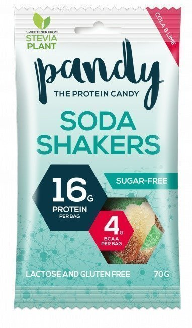 Pandy Protein Soda Shakers