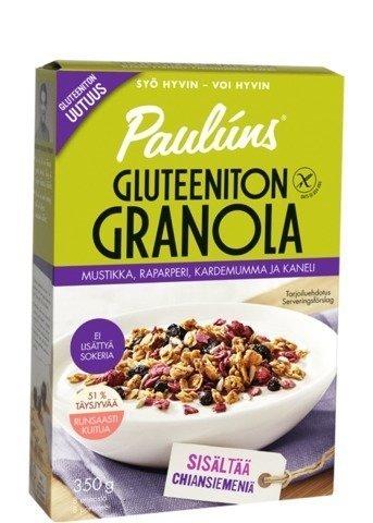 Pauluns Gluteeniton Granola
