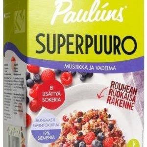 Pauluns Superpuuro Mustikka-Vadelma