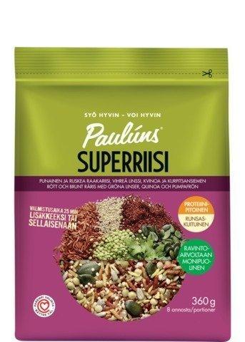 Pauluns Superriisi Vihreä Linssi Jyvä-Siemenseos