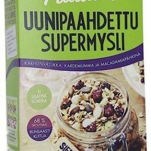 Pauluns Uunipaahdettu Mysli Karhunvatukka-Kardemumma-Macadamiapähkinä