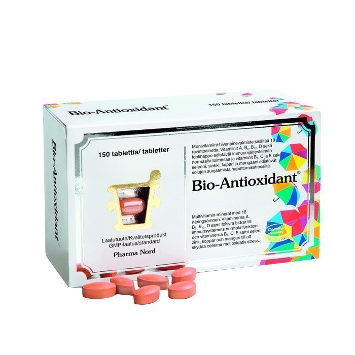 Pharma Nord Bio-Antioxidant 150 kapselia