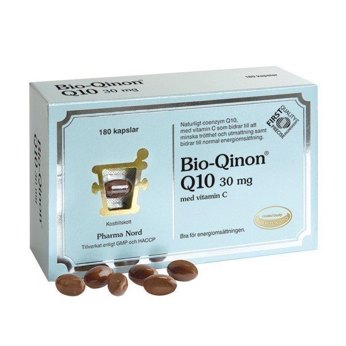 Pharma Nord Bio-Qinon Q10 30mg 180 kapselia