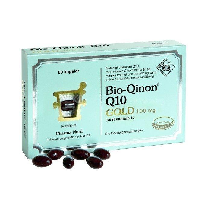 Pharma Nord Bio-Qinon Q10 Gold 100mg 60 kapselia