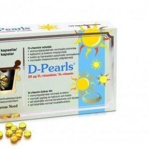 Pharma Nord D-Pearls D-vitamiini 20 µg