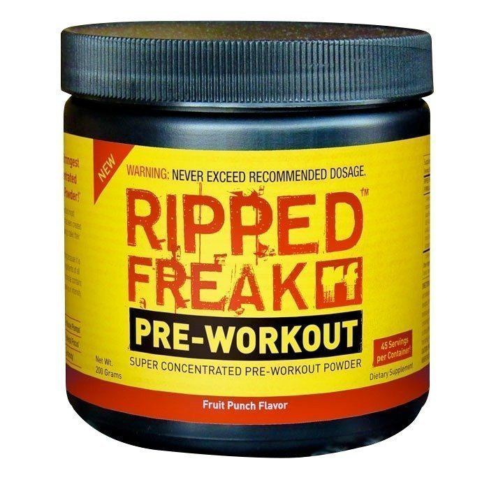 PharmaFreak Ripped Freak PWO 200 g Orange Pineapple