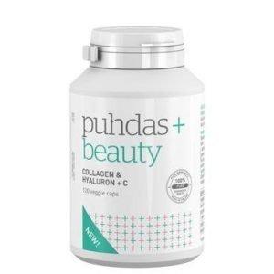 Puhdas+ Beauty Kollageeni & Hyaluron + C