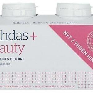 Puhdas+ Caps Kollageeni & Biotiini 2-Pack