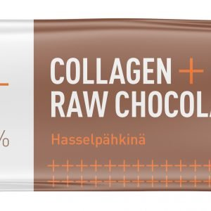 Puhdas+ Collagen + Raw Chocolate Hasselpähkinä 35 G