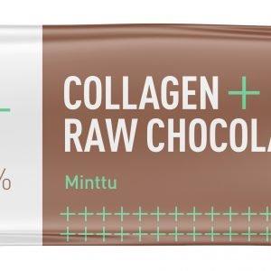 Puhdas+ Collagen + Raw Chocolate Minttu 35 G