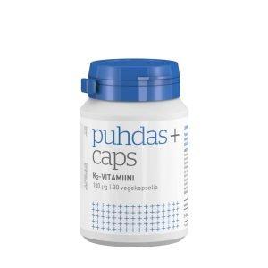 Puhdas+ K2 Vitamiini 100 Μg 30 Kaps