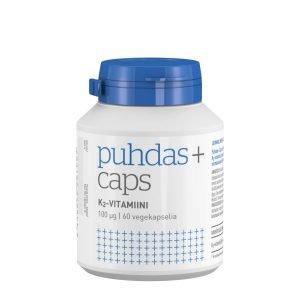 Puhdas+ K2 Vitamiini 100 Μg 60 Kaps