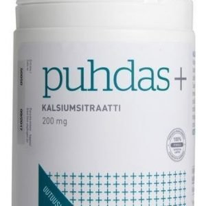 Puhdas+ Kalsiumsitraatti 200 Mg
