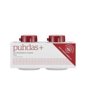 Puhdas+ Kasviperäinen D3-Vitamiini 100 Mikrog 2-Pack