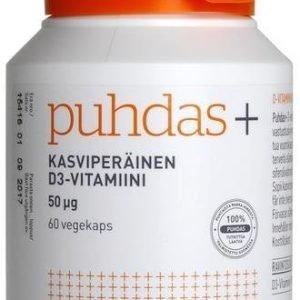 Puhdas+ Kasviperäinen D3-Vitamiini 50 Mikrog