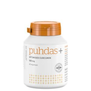 Puhdas+ Optimised Curcumin 500 Mg 60 Kaps