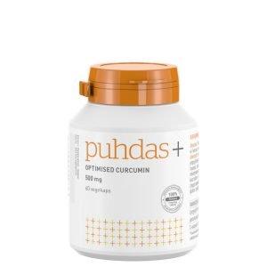 Puhdas+ Optimised Curcumin 500 Mg 60 Kaps