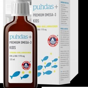 Puhdas+ Premium Omega 3 Kids 1350 Mg 125 Ml