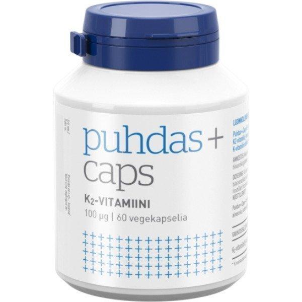 Puhdas+ Puhdas+ Caps K2-vitamiini