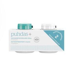 Puhdas+ S.Boulardii 250 Mg & Maitohappobakteeri 5 Miljardia