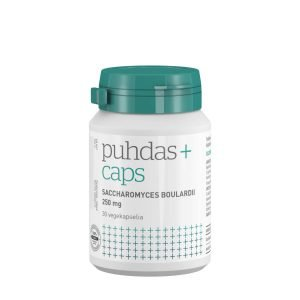 Puhdas+ Saccharomyces Boulardii 250 Mg 30 Kaps